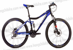 "26"" Alloy Frame MTB Bike Full Suspension Bicycle with High Bumper (Hc-Tsl-MTB-40138 pictures & photos"