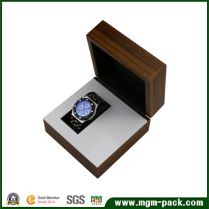 Custom Logo Square Wooden Watch Box pictures & photos