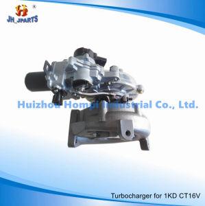 Turbocharger for Toyota 1KD-FTV CT16V 17201-0L040 2KD-FTV/1CD-FTV/1VD-FTV pictures & photos