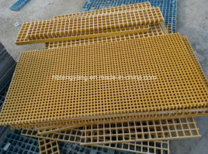 Smooth Surface Treatment and Construction Application FRP Gratings pictures & photos