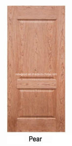 (pear) Veneered HDF Molded Door Leaf, Composite HDF Doors pictures & photos