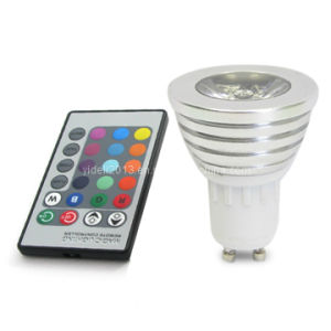 Sync Magic RGB LED Light Bulb Lampen Remote Controller 5W pictures & photos