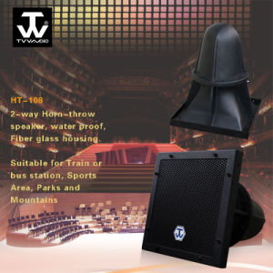 Long Throw Waterproof Outdoor Fiberglass Horn Speaker