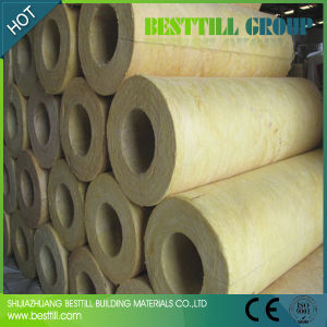 China steam pipe insulation glass wool rock wool china for Mineral fiber pipe insulation