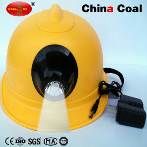 Lm-Nhigh Coal Miner Safety Helmet with LED Light pictures & photos