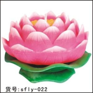 New Lotus Candle