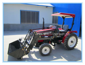 Lz304 Compact Garden Wheeled Tractor, Fit with 4in1 Front End Loader pictures & photos