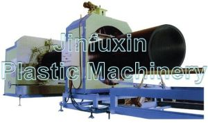 PE Huge Diameter Hollowness Wall Spiral Pipe Extrusion Machine Line (SKRG2000) pictures & photos