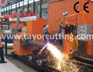 CNC Plasma Metal Pipe Profile Cutting Machine (CNCXG) pictures & photos