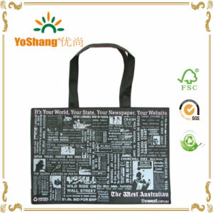 Custom Logo Print Standard Size Non Woven Bag pictures & photos