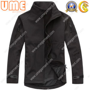 Men′s Waterproof Softshell, Bonded with Fleece Lining (UMWS13)