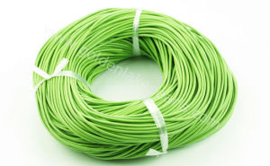 Apple Green Leather Cord, 100m Per Reel