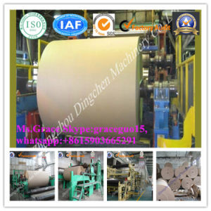 New Technology Product Rice Straw Wheat Straw as Raw Material 1092mm Carton Paper Corrugated Paper Making Machine pictures & photos