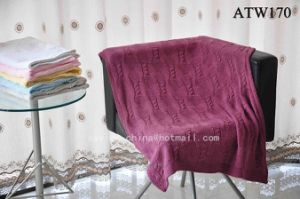 Knitted Cotton Baby Throw Blanket (ATW170)