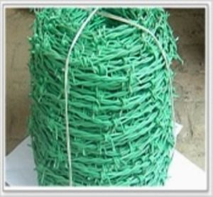 PVC Coated Barbed Wire/ Razor Barbed Wire (XM3-22) pictures & photos