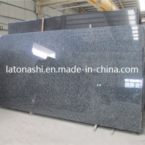 Cheap Price Polished Blue Pearl Granite Slab for Vanity Countertop pictures & photos