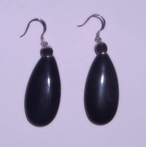 Semi Precious Stone Natural Crystal Agate Earring Jewelry pictures & photos