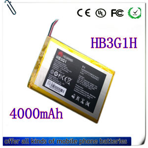4000mAh Battery Hb3g1 for Huawei Mediapad 7lite S7-301u
