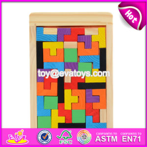 Best Design Classic Building Toys Wooden Tetris Game for Kids Education W14A169 pictures & photos