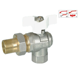 Brass Ball Valve (BV-1005) with Connector pictures & photos