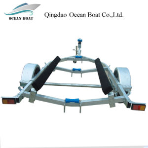 Dyz550b New Style Fashion Boat Trailer for 5.8m Fishing Boat pictures & photos