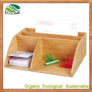 Bamboo Desk Organizer Pen Holder (EB-61966) pictures & photos