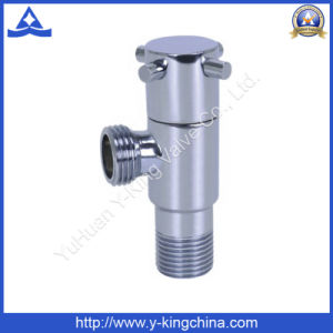 Faucet Shut off Brass Angle Valve Compression Fitting (YD-5032) pictures & photos