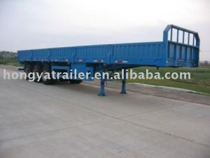 40 Feet 3axle Dropside Semi Trailer pictures & photos