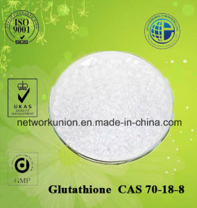 Glutathione (L-glutathione Reduced, GSH) CAS 70-18-8 GMP Pharmaceutical Material pictures & photos