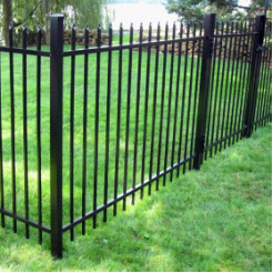 Steel Fencing (PVC or Galvanized Coated)