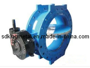 Gear Operation Cast Iron Butterfly Valves pictures & photos