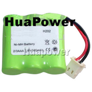 Ni-MH Battery (Type: 2/3AAA 300mAh 3.6V)