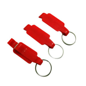 Promotion Gifts Plastic Beer Bottle Opener with Keychain pictures & photos