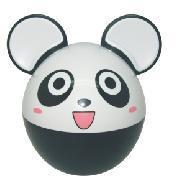 Panda Music Piggy Bank (S004)
