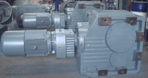 K187RF97 Helical Bevel Gearbox With R Series Helical Gearbox