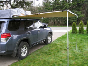 4WD Retractable Canvas Camping Awning Ca01 pictures & photos