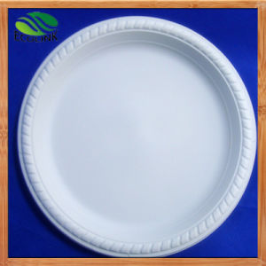 9inch Corn Starch Plate Biodegradable Tableware pictures & photos
