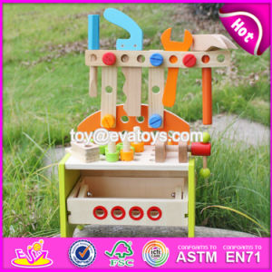 Hottest Intelligence Children Wooden Toy Tool Set W03D030 pictures & photos