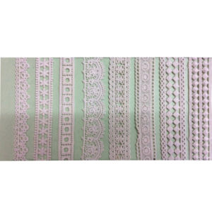 Fashion Garment 100% Cotton Trimming Embroidery Lace (1761) pictures & photos
