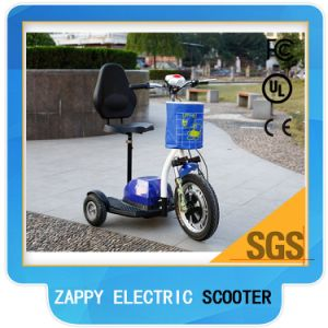 3 Wheel Electric Cart Electric Moped Scooter Mobility Scooter pictures & photos