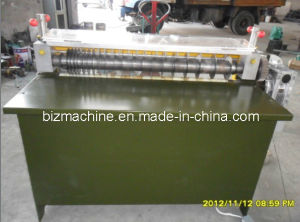 Rubber tiles slitting machine pictures & photos