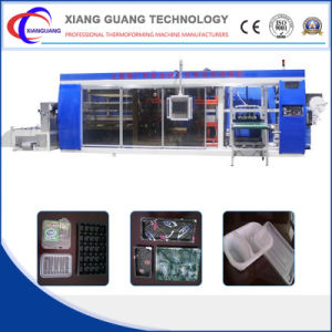 Full-Automatic Plastic Thermoforming Machine pictures & photos