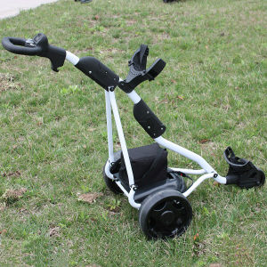 Electric 3 Wheel Golf Caddy with Lead-Acid Battery (DG12150-B) pictures & photos