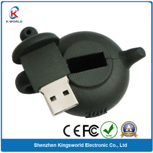 Silicon Teaport 8GB USB Flash Drive with Logo pictures & photos