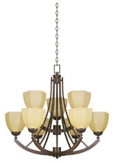 Chandelier Lamp (HLH-21855/6+3) pictures & photos