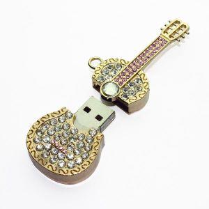 Guitar Shape Jewelry USB Flash Drive, USB2.0