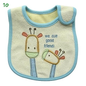 Cotton Baby Bib (WD)