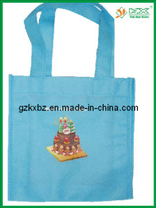 Guangzhou 2015 Latest Custom Non Woven Christmas Gift Bag (KX-JS060)
