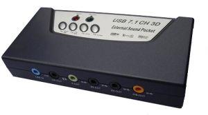 USB 7.1 8CH Sound Card (N-US8CHB)
