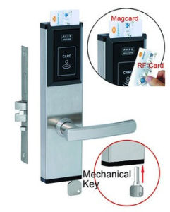 Fireproof UL Hotel Magnetic Card Lock pictures & photos